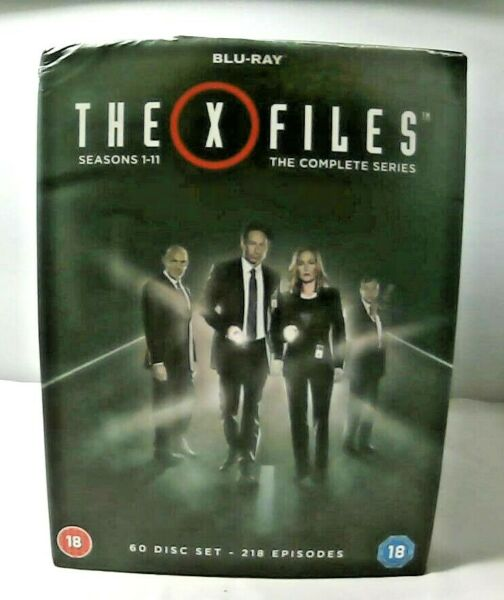 The X Files Seasons 1 11 The Complete Series Blu Ray 60 Diskc Set 218 Episode