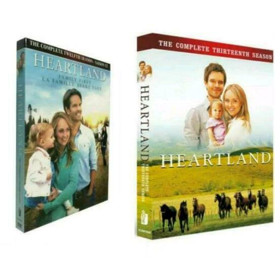 Heartland: The Complete Seasons 12 amp; 13 DVDs Free Shipping