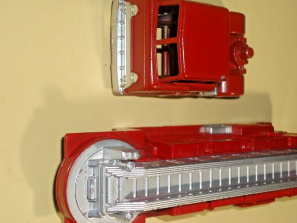 Vintage MIDGETOY DIE CAST Fire Engine La France new old stock#17