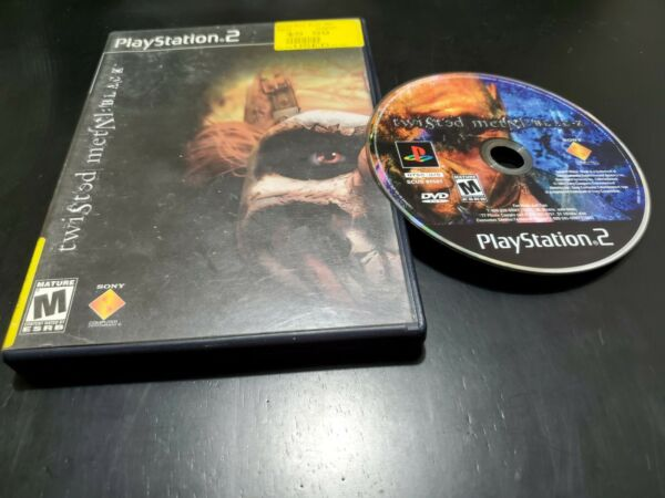Twisted Metal: Black Sony PlayStation 2 2001 TESTED NO MANUAL FREE SHIPPING