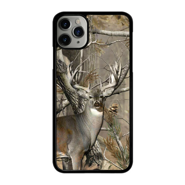 DEER HUNTING CAMO For Apple iPhone 7 8 Plus X XS XR 11 Pro Max Phone Case Cover $11.99