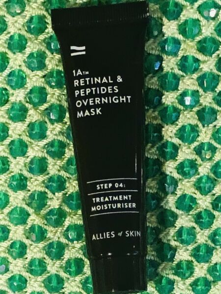 ALLIES of SKIN ✨1A Retinal amp; Peptides Overnight Mask ✨Deluxe Trial Size Sealed $32.75