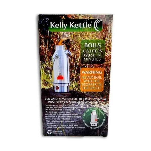 Kelly Kettle Trekker Lightweight Aluminum Kettle w Stainless Steel Fire Base $49.49