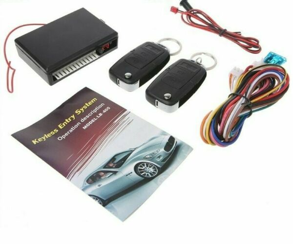 Car Remote Control Central Kit Door Locking Keyless Entry System Universal Tools $42.69