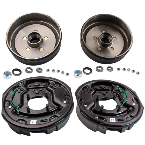 Trailer 5 on 4.5quot; Electric Brake Hub Drum Bearing Replace Kit 3500 lb Axle $150.33