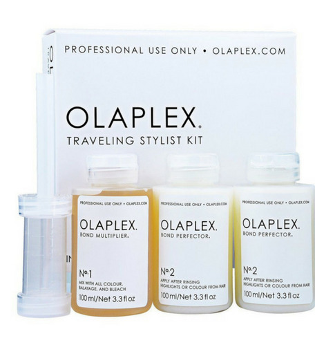 Olaplex Traveling Stylist Kit All Hair Type 1amp;2 2 3.3 fl. oz each *FRESH NEW* $84.95