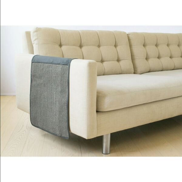 Homebase Cat Scratching Sofa Guard Furniture Protector Suede Grey 50quot; x 18quot; x .1 $20.00