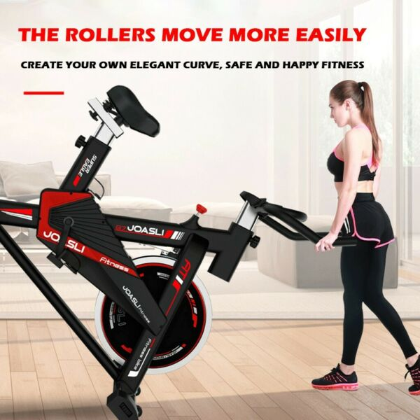 PRO Stationary Bike Exercise Bicycle Trainer Fitness Cardio Cycling Training Gym $199.99