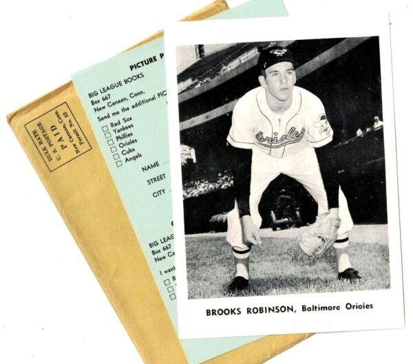 1961 Baltimore Orioles Jay#x27;s Photos Complete Set 12 w Envelope Order Form EX