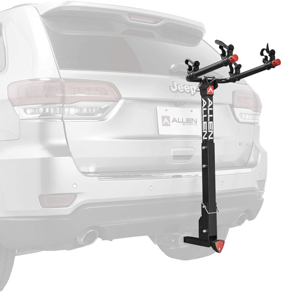 Allen Sports Deluxe Locking 2 Bicycle Hitch Bike Mount Rack Carrier 522RR New $152.14