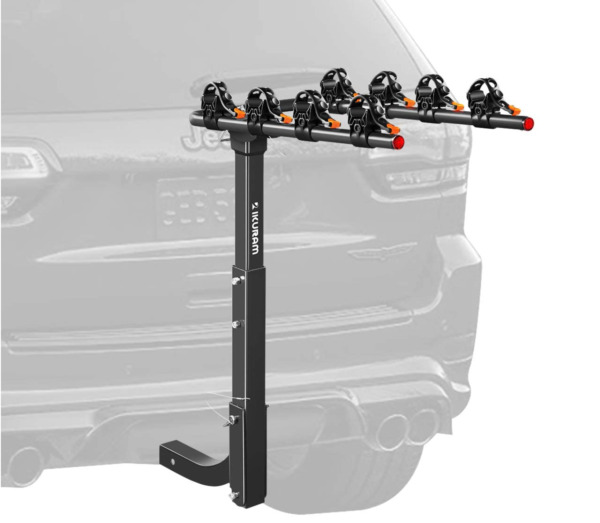 4 Bike Rack Hitch Mount Foldable Car Truck SUV Trailer Rear Bicycle Carrier $139.99