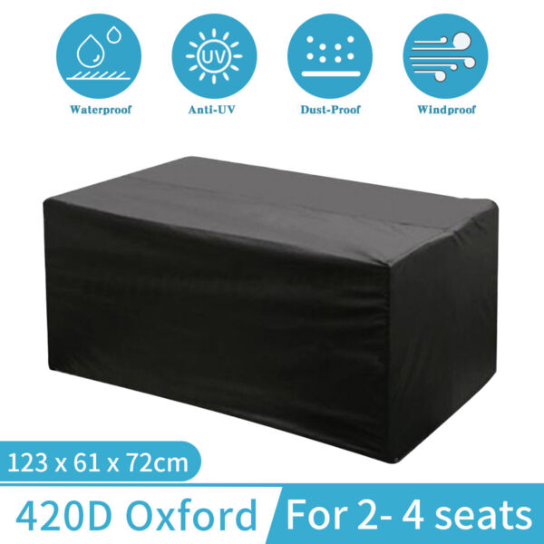 Outdoor Garden Patio Yard Table Chair Furniture Cover Dust Waterproof Protection $14.56