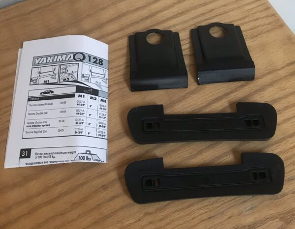 YAKIMA Rack Q Tower Clips Q128 With A Pads Part # 8000728 $129.99
