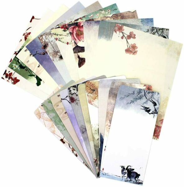 Stationary Paper and Envelopes Set60PCS Stationary Set 40 stationery Papers 2 $16.49