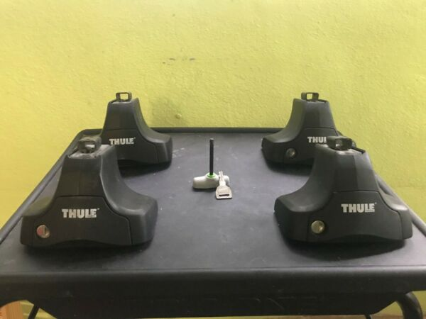 Thule 480R Rapid Traverse Foot Pack Mount Kit Roof Rack With Locks Key and Tool $150.00