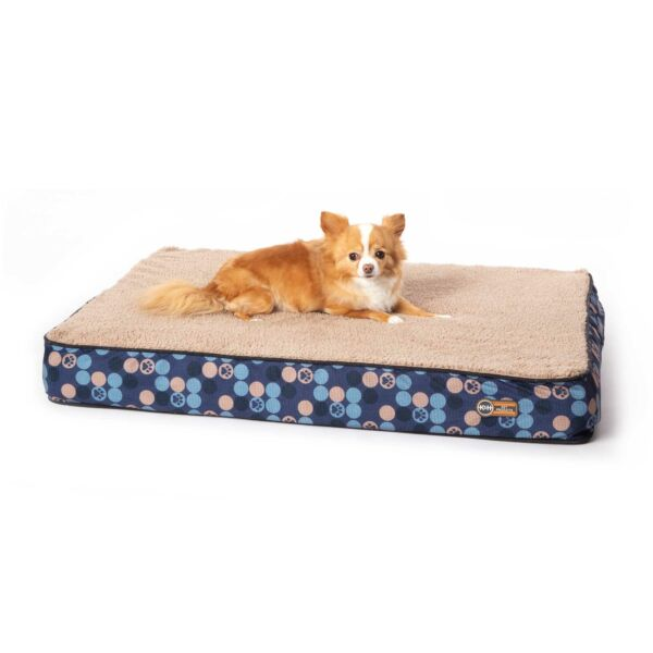 Kamp;H PET PRODUCTS 100542454 Navy Blue SUPERIOR ORTHOPEDIC DOG BED SMALL NAVY B... $44.17