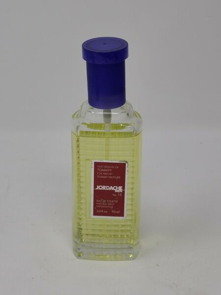 Jordache Men #15 Impression of Tommy For Men 3.0 Oz 95% Full $5.98