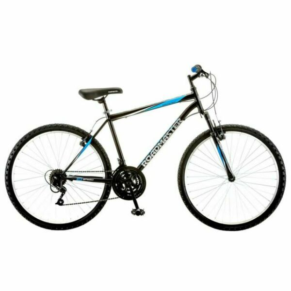 Roadmaster Granite Peak Mountain Bike for Men Black Blue $162.00