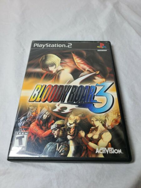 Bloody Roar 3 for Sony PlayStation 2 PS2 Complete w Manual Tested plays perfect $29.90