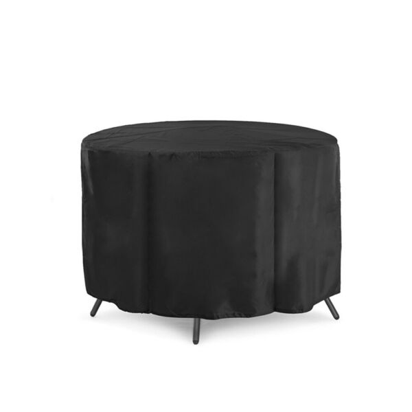 Round Waterproof Cover Outdoor Patio Table Chair Furniture Protection Rainproof $21.85
