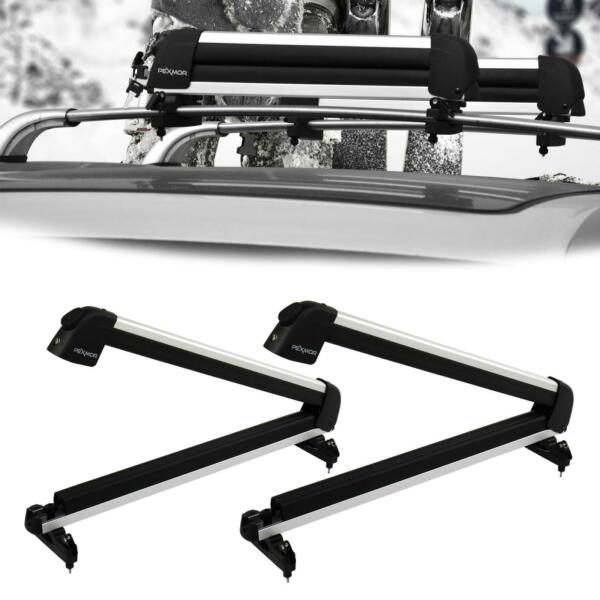 Universal Roof Mount Snowboard Car Rack fits Snowboards and Ski Roof Carrier $62.95