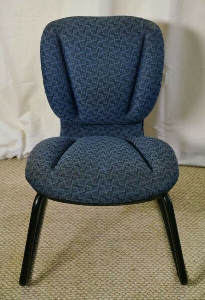 Comfortable Blue Chair Used $29.99
