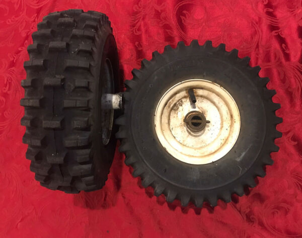 Set Of 2 Toro Snowblower Tires And Rims 14x4.00 6NHS