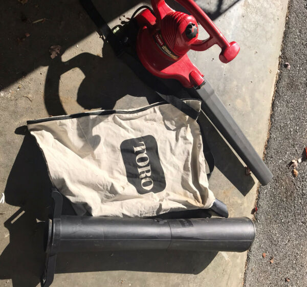 Toro Ultra Blower Vac With Metal Impeller model 51599 Includes Vac Accessories