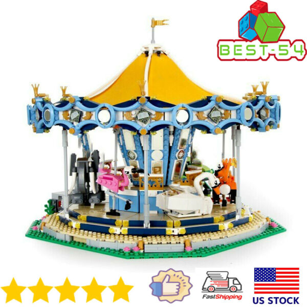 Building Blocks Sets Creator Expert The Carousel Model 15036 Brick Toys for Kids