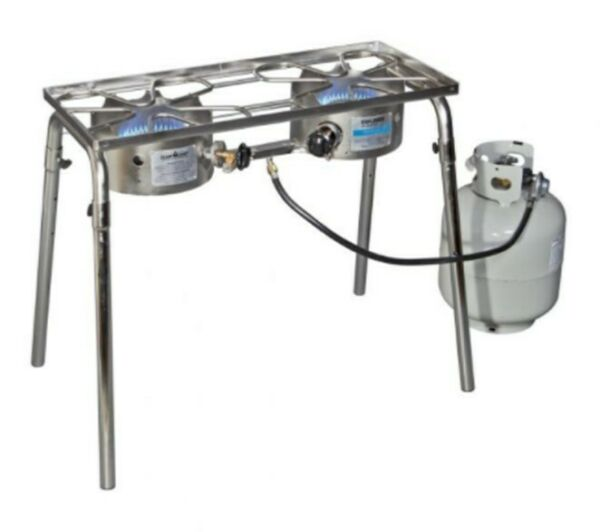 Camp Chef Explorer 2 burner propane stove EX60SS