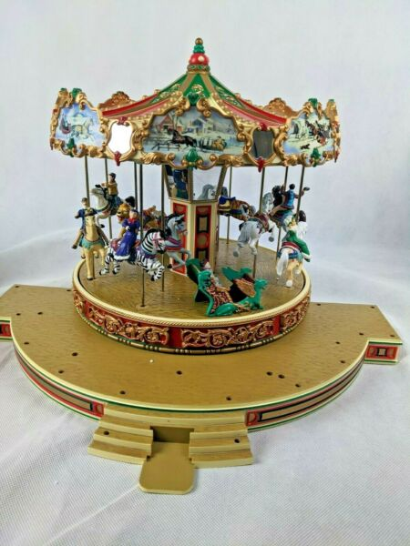Mr Christmas Holiday Around the Carousel Musical 30 Songs Animated 1997