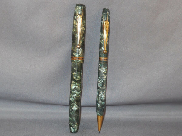 Epenco Vintage Fountain Pen and Pencil Set working fine point
