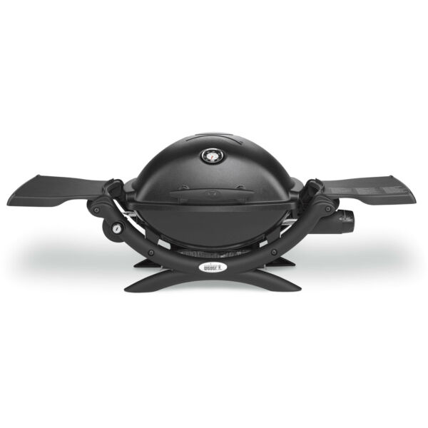 Weber Q 1200 Portable Gas Grill Black FREE SHIPPING