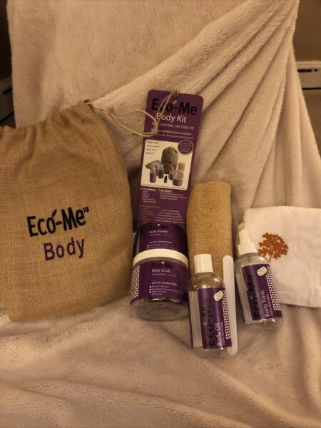 Eco Me BODY Spa Tool Kit For All Natural Cleaning Brand New in Bag $27.95