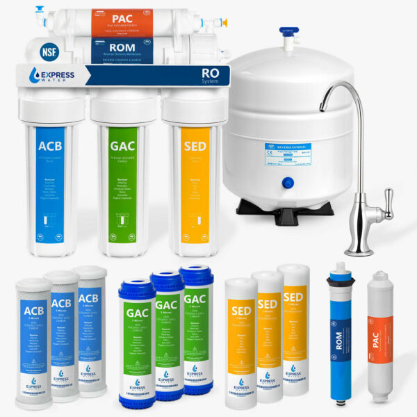 Home Drinking Reverse Osmosis System5 Stage PLUS Extra 7 Express Water Filters $39.99