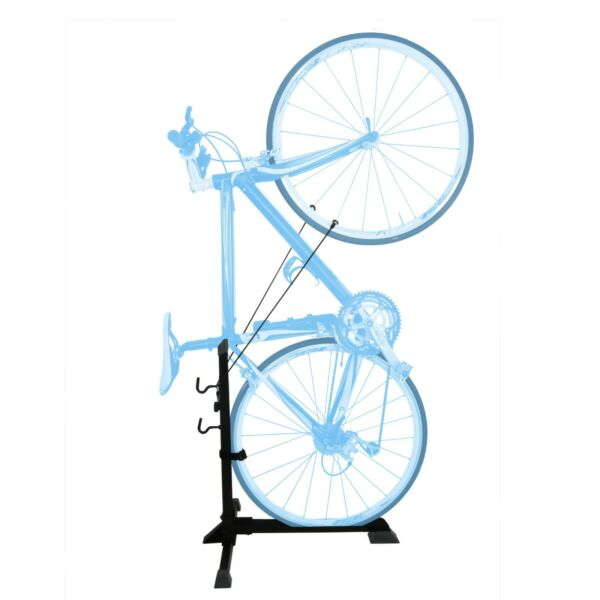 Bike Stand for Vertical Horizontal Maintenance Positions Space Saving Bicycle $63.99