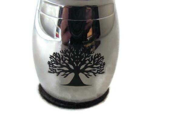 MASONIC DOG CAT ASHES Cremation Funeral stainless steel PET URN $24.95