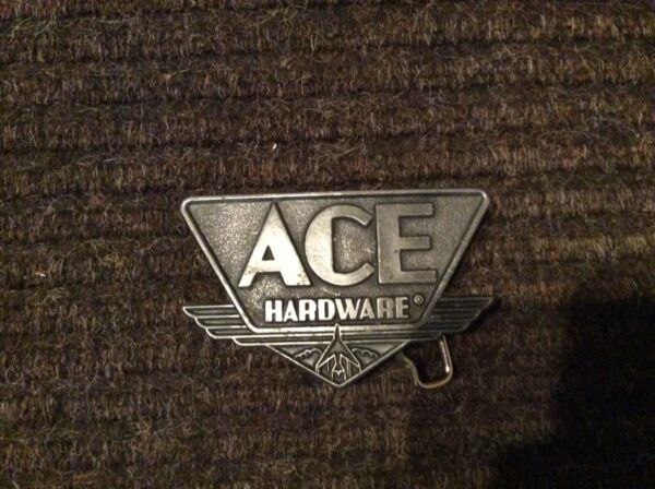 Vintage Belt Buckle Ace Hardware design
