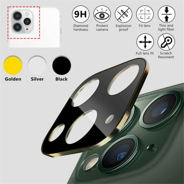 Camera Lens Protector Case iPhone Apple 12 11 Pro Max Tempered Glass Metal Cover