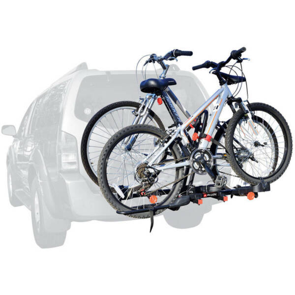 Allen Sports RACK 2 BIKE HITCH MOUNT Trailer Carrier Receiver Bicycle Transport $126.72