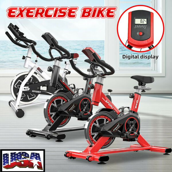 Bicycle Cycling Fitness Exercise Stationary Bike Cardio Home Indoor Workout Gym $189.99