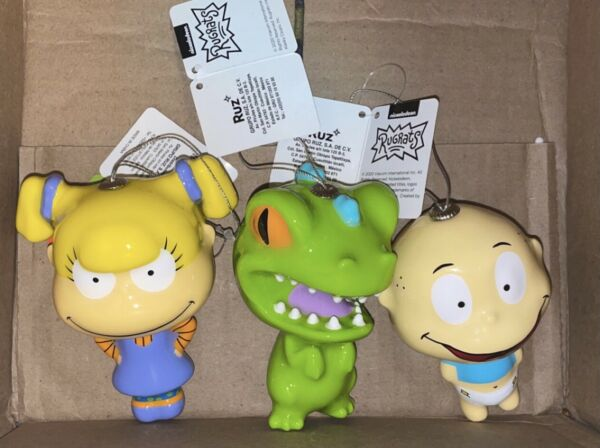 Christmas Ornament Nickelodeon Rugrats Angelica Tommy And Reptar New 2020 $32.95