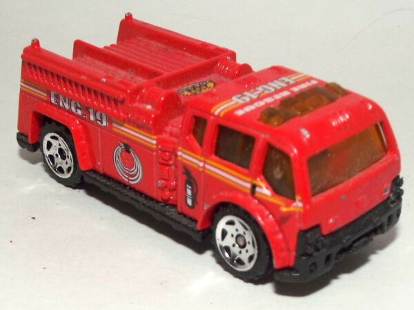 Matchbox Die Cast Fire Pumper Truck Engine 19
