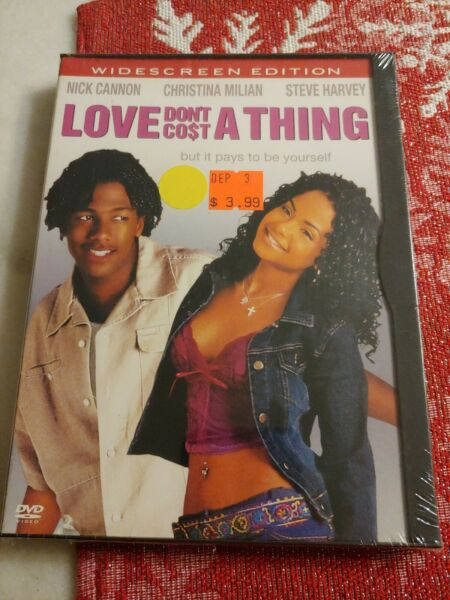 Love Dont Cost a Thing DVD 2004 Widescreen NEW $4.20