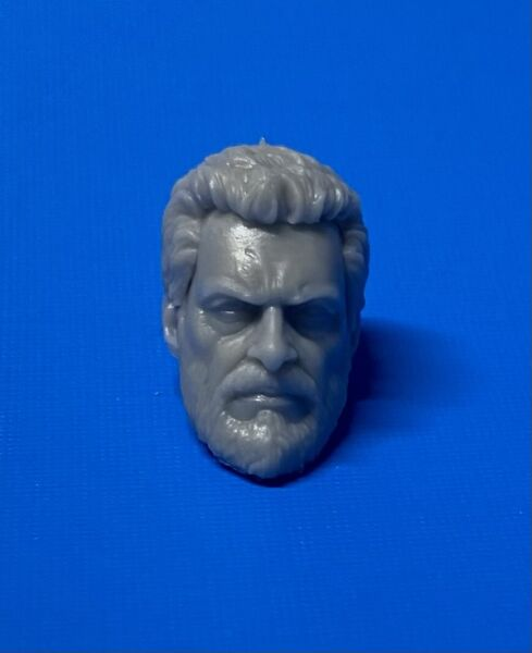 Marvel Legends ML Logan Wolverine Head 1:12 Scale Custom Resin Cast X Men