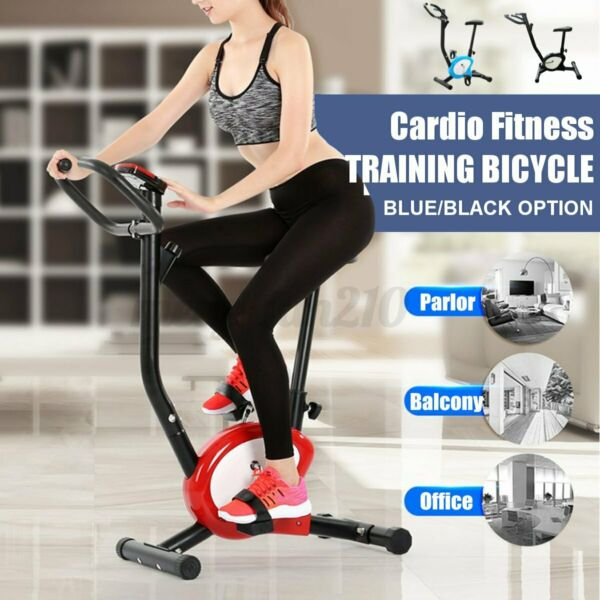 Exercise Bike Indoor Stationary Bicycle Cycling Cardio Gym Workout Fitness $95.20