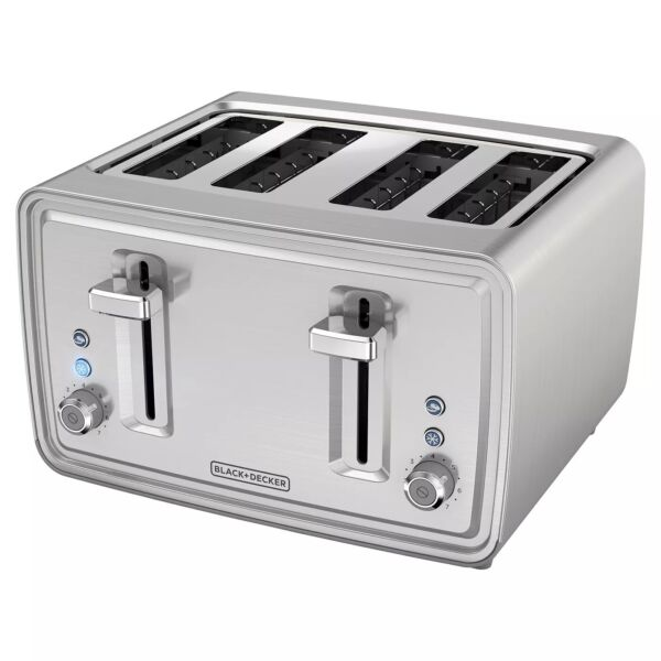 4 Slice Toaster Stainless Steel