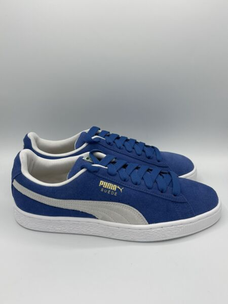 Puma Suede Classic Men#x27;s Shoes Casual Sneakers 352634 64 Blue White $59.99
