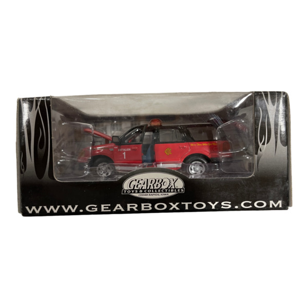 Gearbox Ford SUV Chicago Fire Diecast