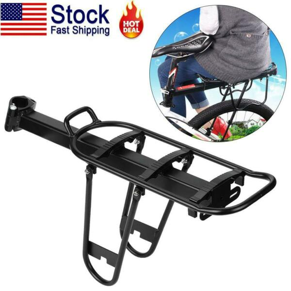 Mountain Bike Bicycle Rear Rack Seat Post Mount Luggage Carrier Alloy US $25.04